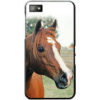 Beautiful Elegant Brown Horses Hard Case For Blackberry Z10