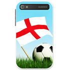 Flag with Black & White Football Hard Case For Blackberry Classic Q20