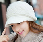 Fashion Womens Lady Winter Warm Knitted Crochet Slouch Baggy Beanie Hat Cap