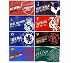 OFFICIAL FOOTBALL CLUB FLAGS 1.5m x 0.9m Established & Crest Large/Body/Flag