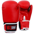 6oz Kids Boxing Gloves Child Punching Sparring Kick Mitts MMA Junior Rex Leather
