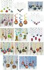12 HANGING SWIRLS (Childrens Party Decorations) Variety of Themes {Amscan}