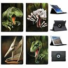 Jurassic Dinosaur Terrible Lizard Folio Cover Leather Case For Apple iPad