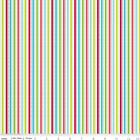 SANTA EXPRSS STRIPE - MULTI -  by RILEY BLAKE 100% COTTON CHRISTMAS FABRIC