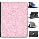 Kawaii Cupcakes Sweets Skulls Hearts Cats Cover Leather Case For Apple iPad