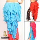 Last Sale belly dance hip scarf luxury ruffle fringes skirt shawl belt wrap
