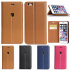 NEW Luxury Flip PU Leather Card Wallet Case Cover For Apple iPhone 6s Plus