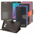 For HTC Desire 520 Leather PU WALLET POUCH Case Colors