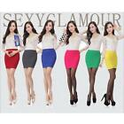 Women Lady OL Sexy A-Line Mini Skirt Short Pencil Slim Pleated Bodycon Dress LA