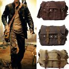 Men's Fashion Vintage Hipster Leather Satchel Messenger Laptop Carrying Bag