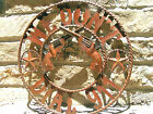 Metal Art Western We dont Dial 911 Iron Art Sign 22 inches 0504