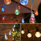 20 LED CLEAR FESTOON CONNECTABLE OUTDOOR CHRISTMAS PARTY WEDDING STRING LIGHTS