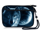 "Wolf&Moon Sleeve Case Cover Pouch+Strap For 4.7"" Apple Iphone 6S/5.5"" 6S Plus"