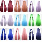 """21Colors Fashion Women Hair Long Straight Wig Anime Cosplay Party Wigs 80cm/32"""""""