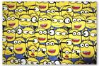 MAT119  Despicable Me Minions canvas fabric DIY material 145cm wide sold by yard