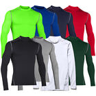 WOW!! UNDER ARMOUR 1265648 CG Compression Armour Longsleeve Mock