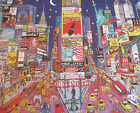 EUC Ceaco 1500 Pc Jigsaw Puzzle Times Square, New York Twin Towers