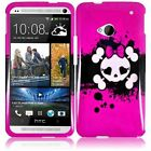Design Hard Cover Snap On Case For HTC One M7