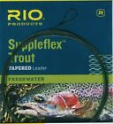 Rio Suppleflex Trout Leader 9 foot 3 pack