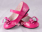 Mary Janes Shoes Size UK 9-2.5 EU 26.5-35 Wedding Flower Girl Bridesmaid GS010