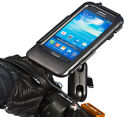 "Motorcycle M10 Stud 1"" Ball Extended Bike Mount + Waterproof Case for Galaxy S4"