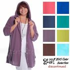 OH MY GAUZE Cotton GISELE Hoodie JACKET Tunic Top 1(S/M) 2(L/XL) 2015 DISC COLOR