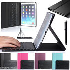 NEW Wireless Bluetooth Keyboard Folding Stand Leather Case Cover For iPad Mini 4