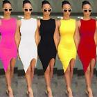 Fashion Women's Summer Slim Bodycon Evening Party Cocktail Short Mini Dress US