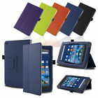 Smart Stand Leather Flip Case Cover For 2015 NEW Amazon Kindle Fire 7'' inch