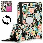 """For Samsung Tab A Galaxy 8.0"""" SM-T550 8""""/9.7"""" Stand Rotating Leather Case Cover"""
