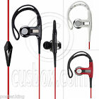 3.5mm In-Ear Clip Microphone Stereo Hook Running Jogging Earhook Earbud Headset