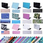 "Designer Hard Shell Case Snap Cover + Keyboard Skin for Macbook Pro 13"" Retina"