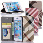 New Wallet Flip PU Leather Phone Case Cover for apple iPhone 6S 4.7 & 6S Plus