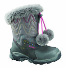 New Girls Hi-tec Heavenly Sport Winter Thermal Waterproof Snow Boots Size 10-5