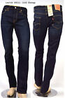 Original LEVI'S 511 Biology 1542 Dark blue Slim Fit Jeans new! W29 W33 W34 W36