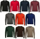NEW PIERRE CARDIN Men's Pullover in 5 colors Jumper V-neck cotton Top