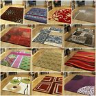 SMALL MEDIUM LARGE MODERN RUGS EASY CLEAN RED BLUE PURPLE RUG CHEAP LOUNGE MATS