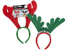 6 REINDEER ANTLERS HEADBAND CHRISTMAS XMAS COUPLE FANCY DRESS ACCESSORY RUDOLPH