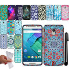 For Motorola Moto X Style XT1575 Pure Edition TPU Gel SILICONE Case Cover + Pen