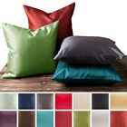 2 Piece Euro Shams Cover Case Decorative Pillow Zippered Closure MANY MORE Color image