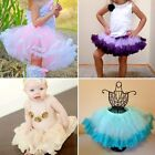 Princess Baby Kid Girl Multilayer Tulle Party Dance Dress Tutu Skirt 2-8Y B13