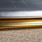 MAT210 gold silver bright leather PU pvc material cos dance show clothing fabric