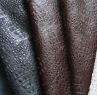 MAT223 classic embossed crocodile PU material leather DIY fabric PVC thick matt
