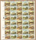 {BJ Stamps}   2620-23  Columbus' Voyages   MNH  29¢ Sheet of 50.  Issued in 1992