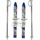 V3TEC children Rutscher Beginner skis Plastic Children's Ski Starter Kit & Poles