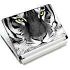 "White Tiger Face 10.6""-15.6"" Laptop PC Vinyl Decal Skin Sticker Cover Protector"