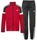Adidas Tiberio Junior Full Complete Tracksuit Set Training Sports Football - Red