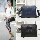 Women Genuine Leather Crocodile Clutch Envelope Purse Crossbody bag Handbag MSYG