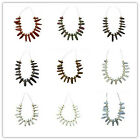 Interesting 16pcs Mixed Gemstone Pendant Bead Set Z15121102 ( As Picture)