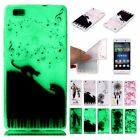 Fluorescence Luminous Soft Glow In The Dark CaseCover For Huawei Ascend P8 Lite